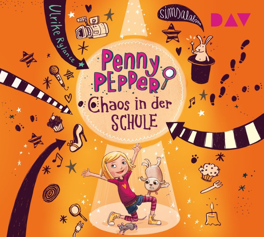 Penny Pepper – Teil 3: Chaos in der Schule - Ulrike Rylance / 2021 / ab 8 Jahre