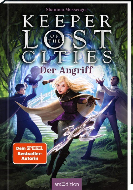 Keeper of the Lost Cities - Der Angriff (Keeper of the Lost Cities 7) - Shannon Messenger / 2022 / ab 11 Jahre